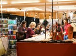 Shopping at Unicorn Beads Booth