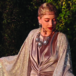 Silver Kimono by Jennafer Grace