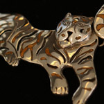 Tiger Necklace from Design Import