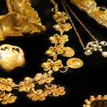 Antique Gold Jewelry by Elle of California