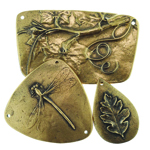 Bronze Pendants by Laura Moore