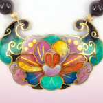 Cloisonne Pendant by David Kuo