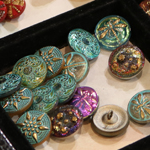 Czech Glass Buttons from Beads on Main