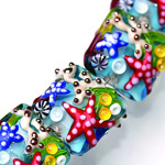 Lampworked bead by Grace
