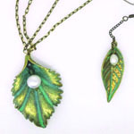 Leaf N Earring Set from Bead and Crafts