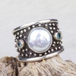 Pearl Ring by Savannah Design Studio