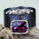 Ruby Ring by Pacific Silverworks